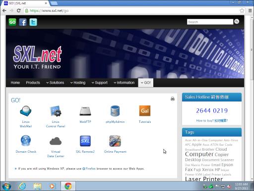 001 SXL Web Apps